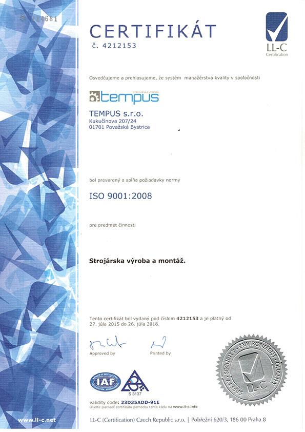 tempus_iso_certifikat